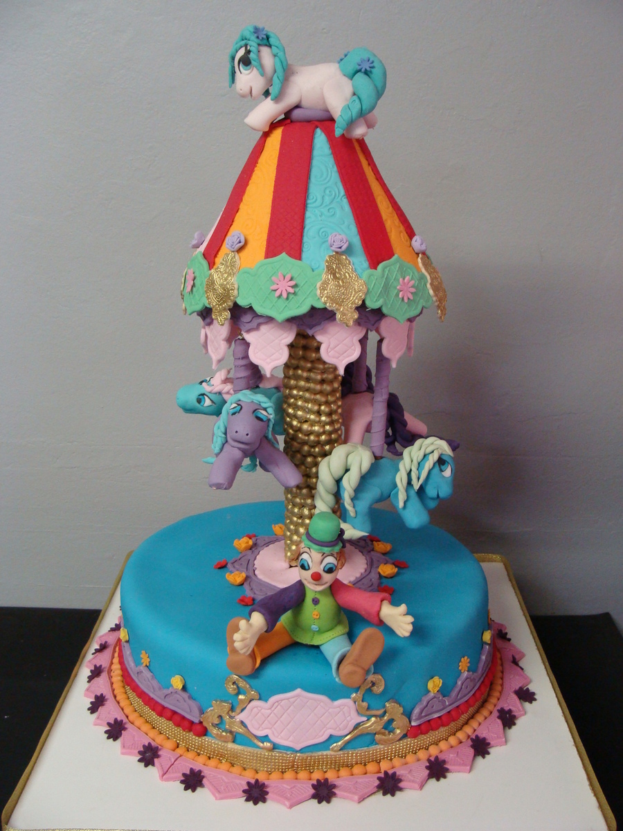 My Little Pony Carousel Cake Cakecentral Com
