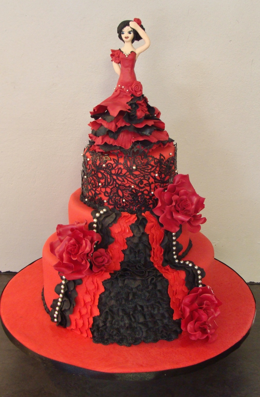 Spanish Dancer Cake Cakecentral