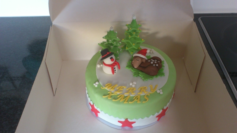 Christmascake on Cake Central