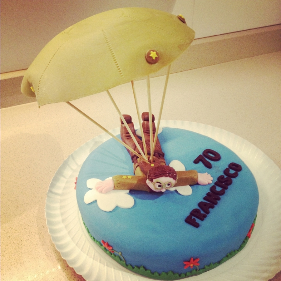 Parachutes Cake on Cake Central