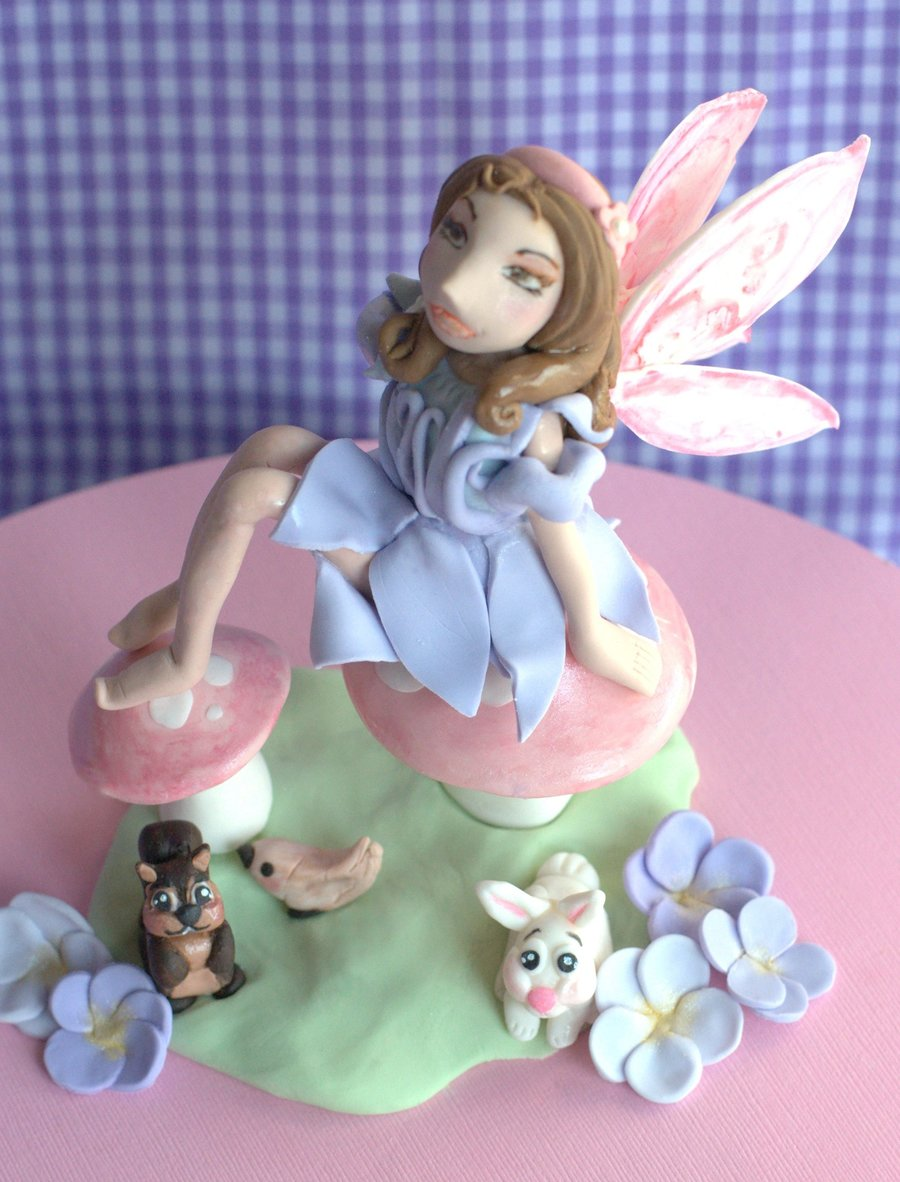 Woodland Fairy & Friends on Cake Central