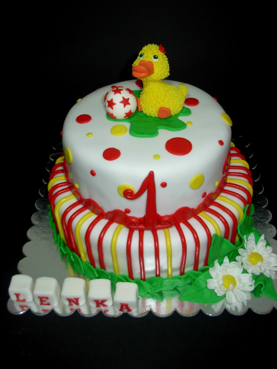 Lovely Duckling on Cake Central