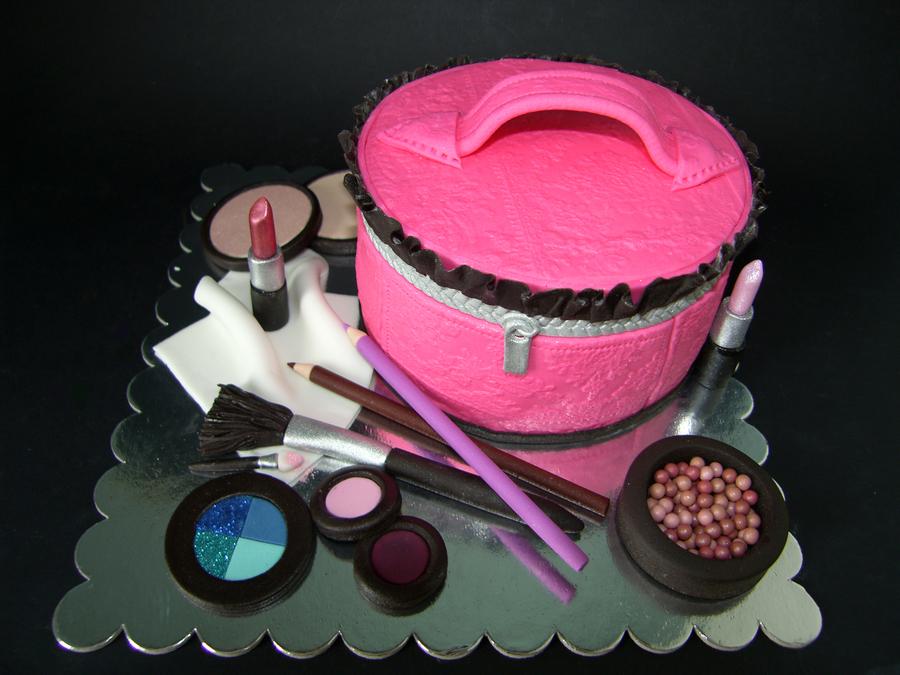 Makeup Kit Cake Images : Make-Up Kit Cake - CakeCentral.com