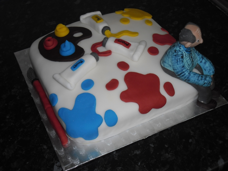 Art Theme on Cake Central