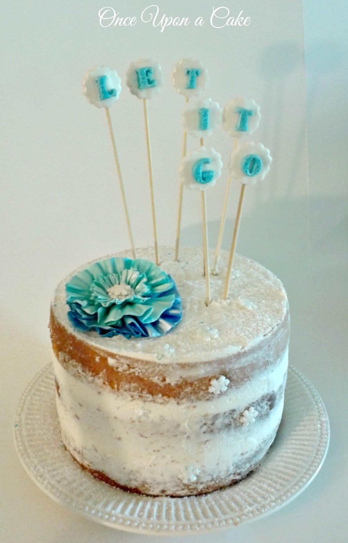 Elsa Frozen Cake Recipe