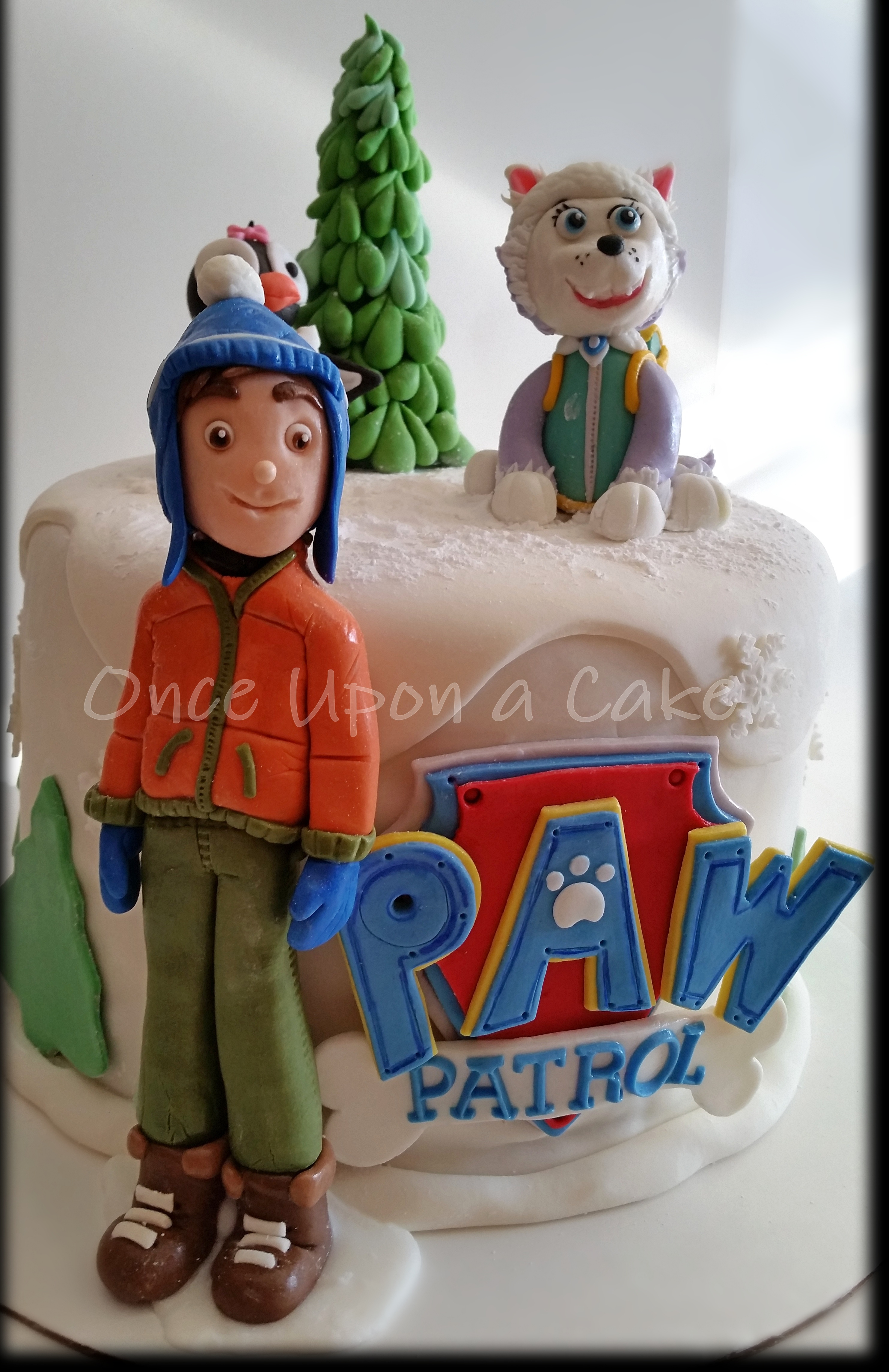 Paw Patrol Cake A Now 3 Year Old Girl