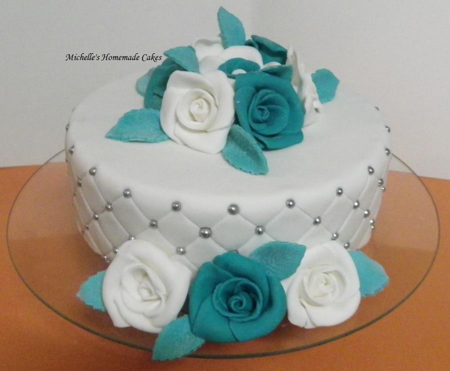 My Nans 70Th Birthday Cake - CakeCentral.com