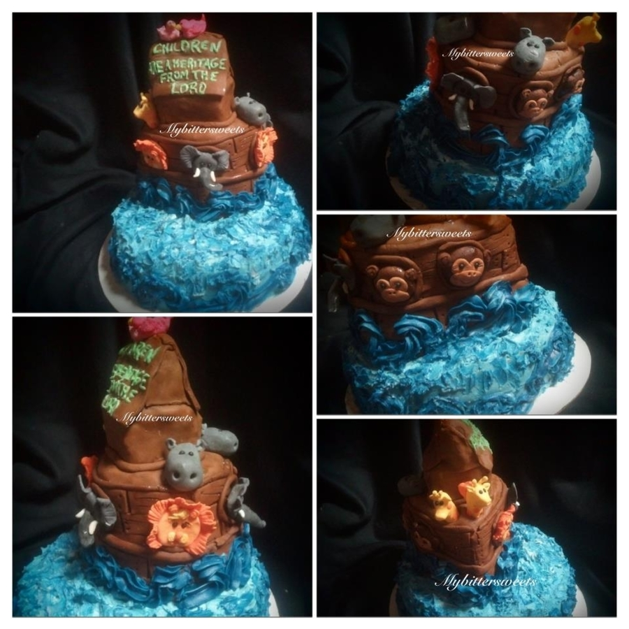 Noahs Ark Cake  on Cake Central