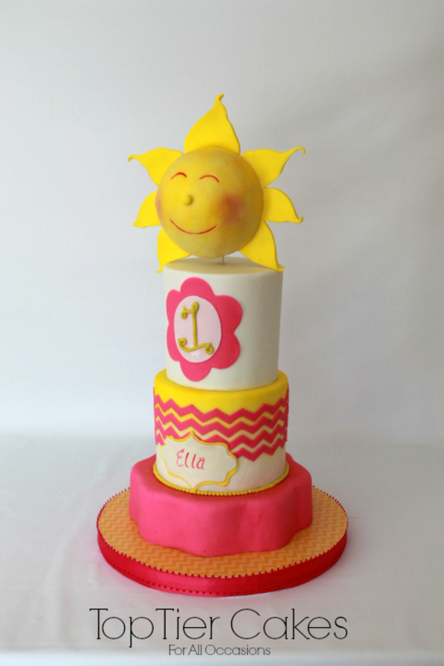 Sunshine And Happiness on Cake Central