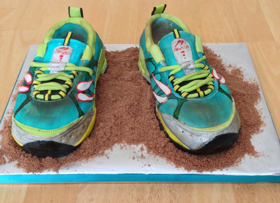 Terra Momentus Running Shoe on Cake Central