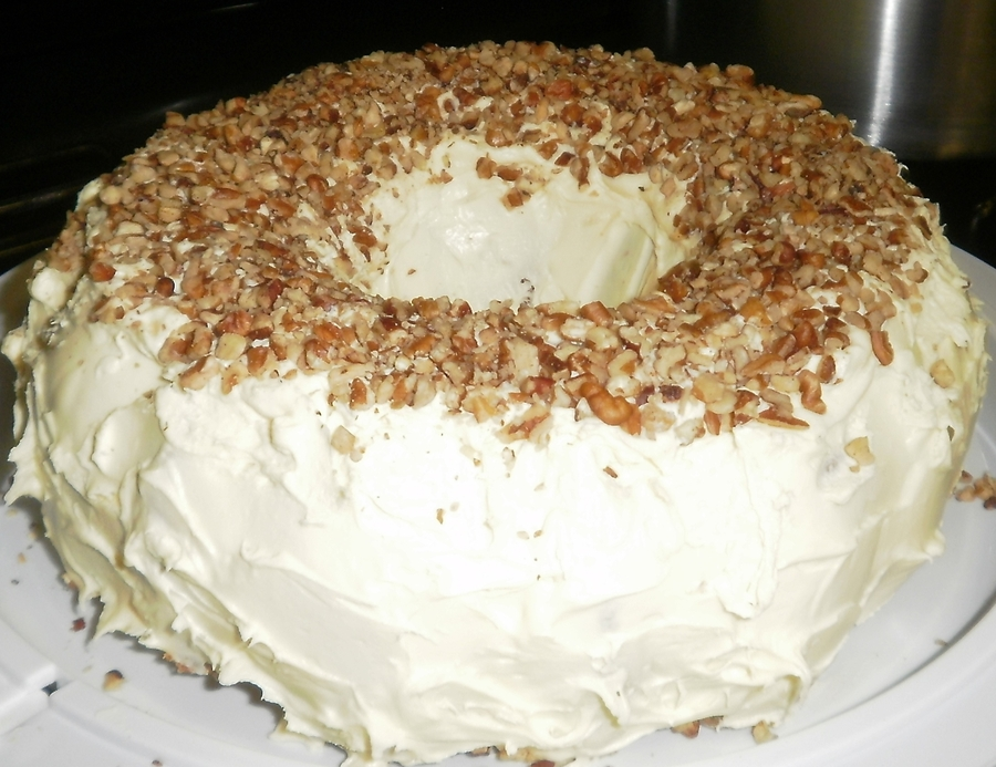 Butter Pecan Bunt Cake on Cake Central