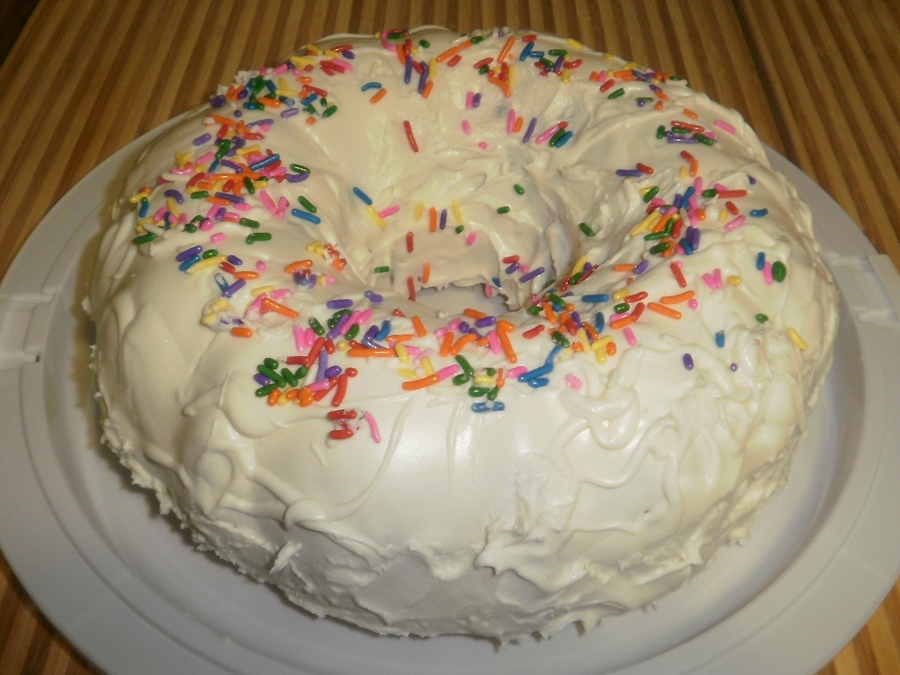 Peppermint Bunt Cake on Cake Central