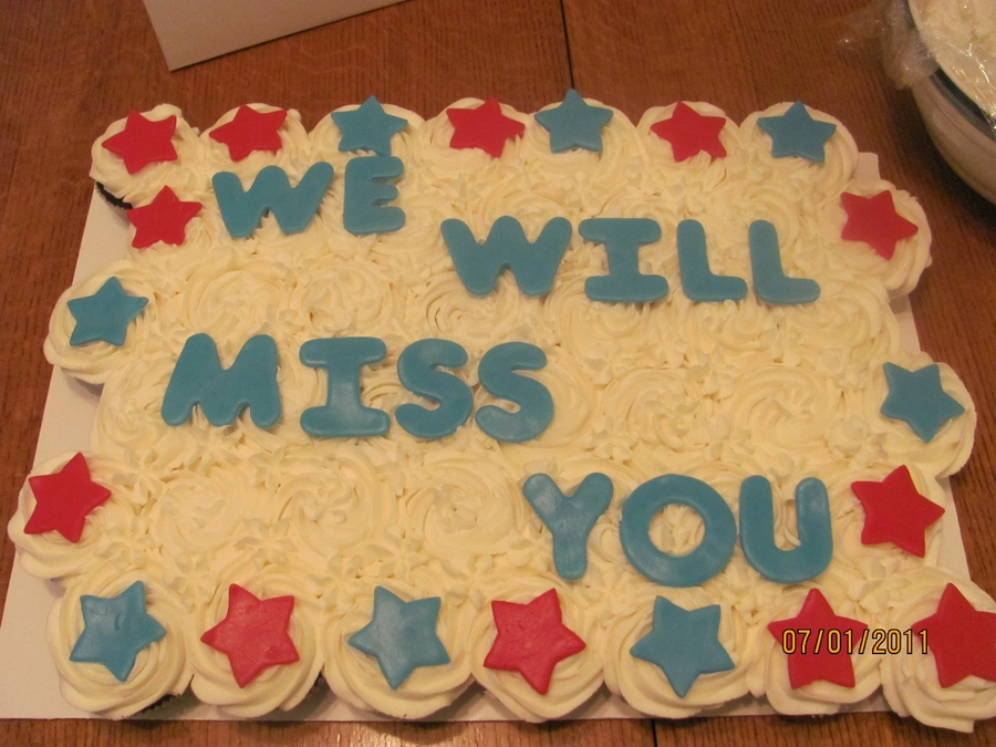 Going Away Party On The 4Th on Cake Central