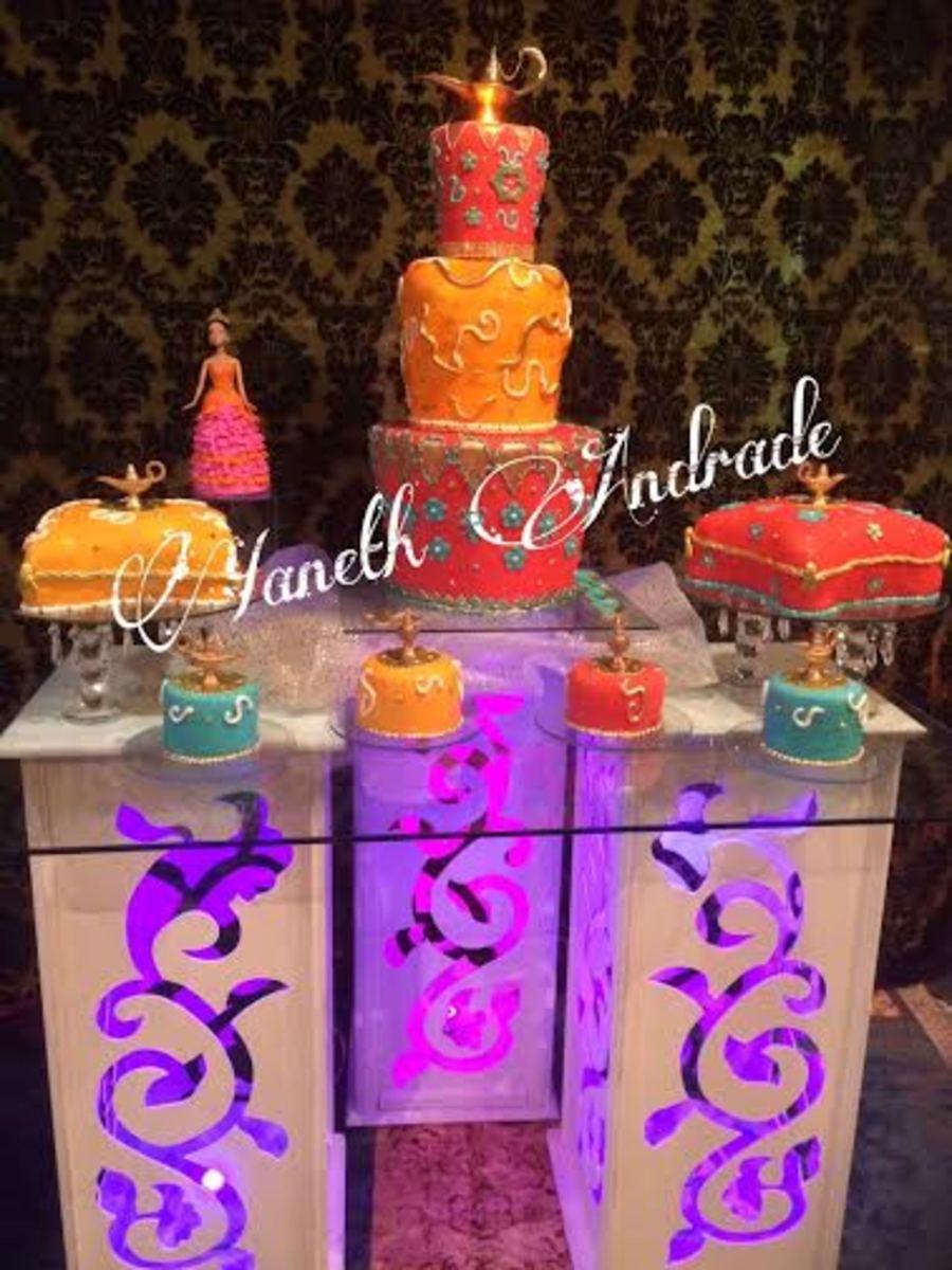 Arabian cakes for Arabian cake decoration