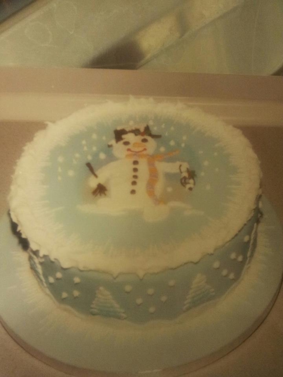 Frosty The Snowman on Cake Central