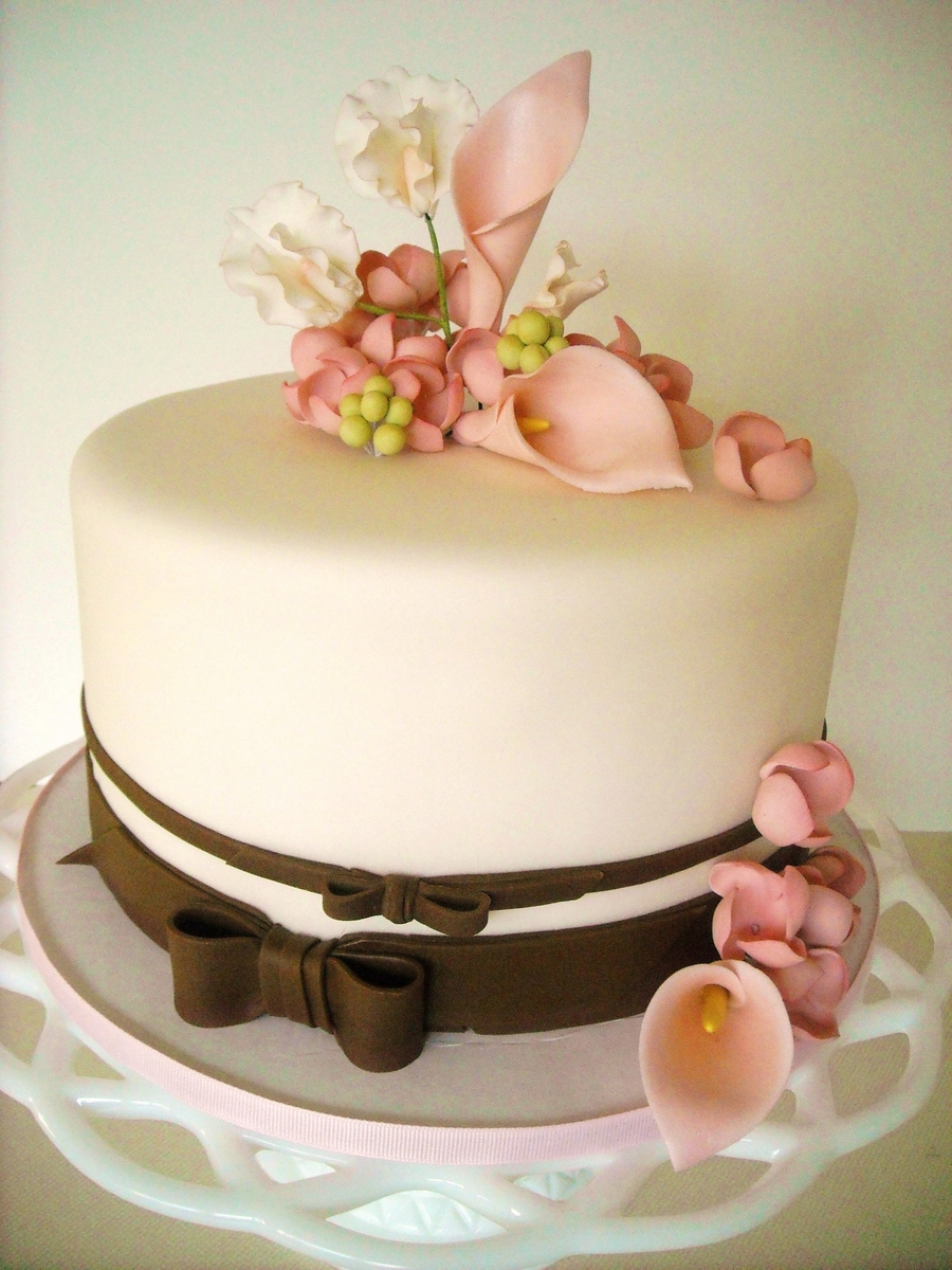 Simple And Sweet on Cake Central