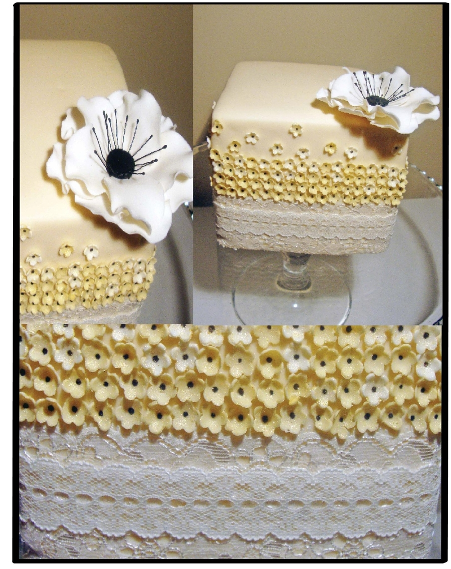 Ivory Lace on Cake Central