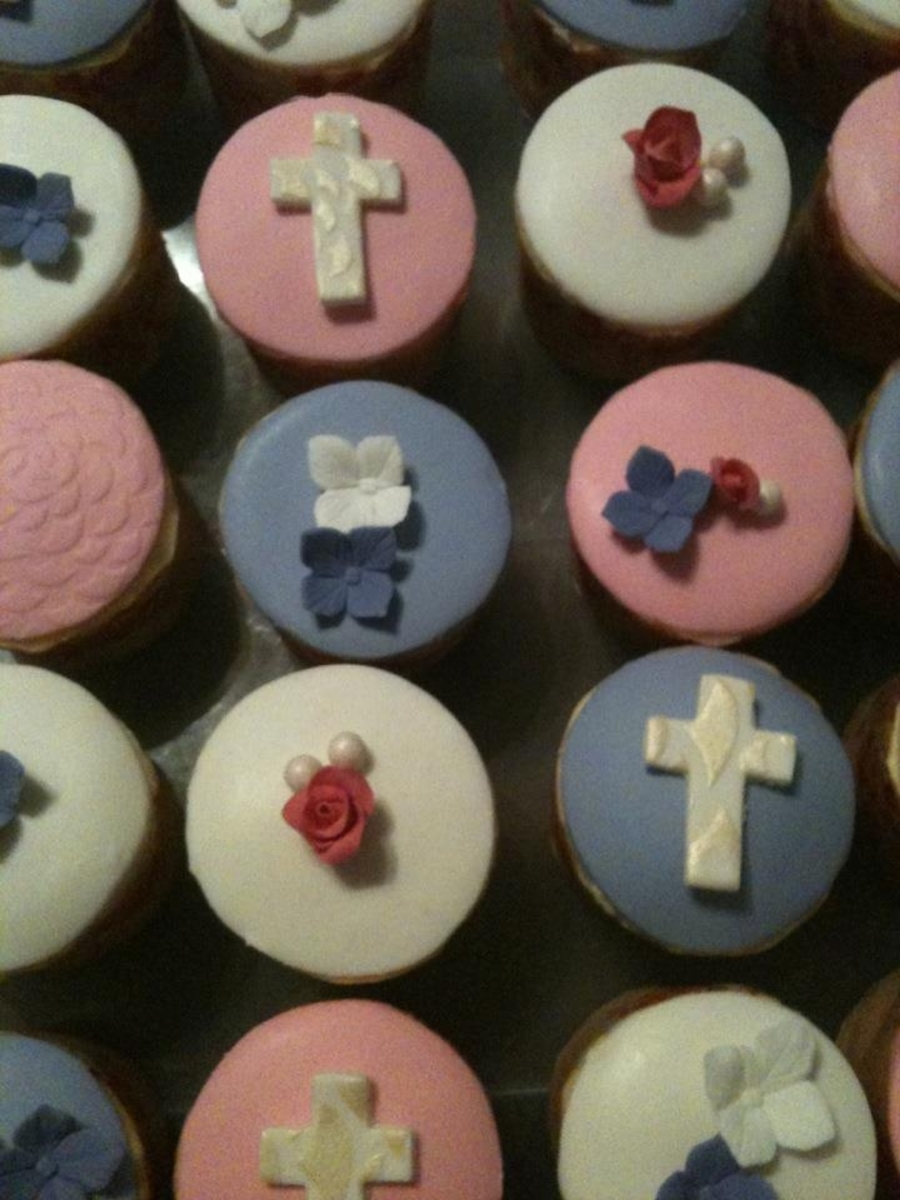 Christening Cupcakes on Cake Central