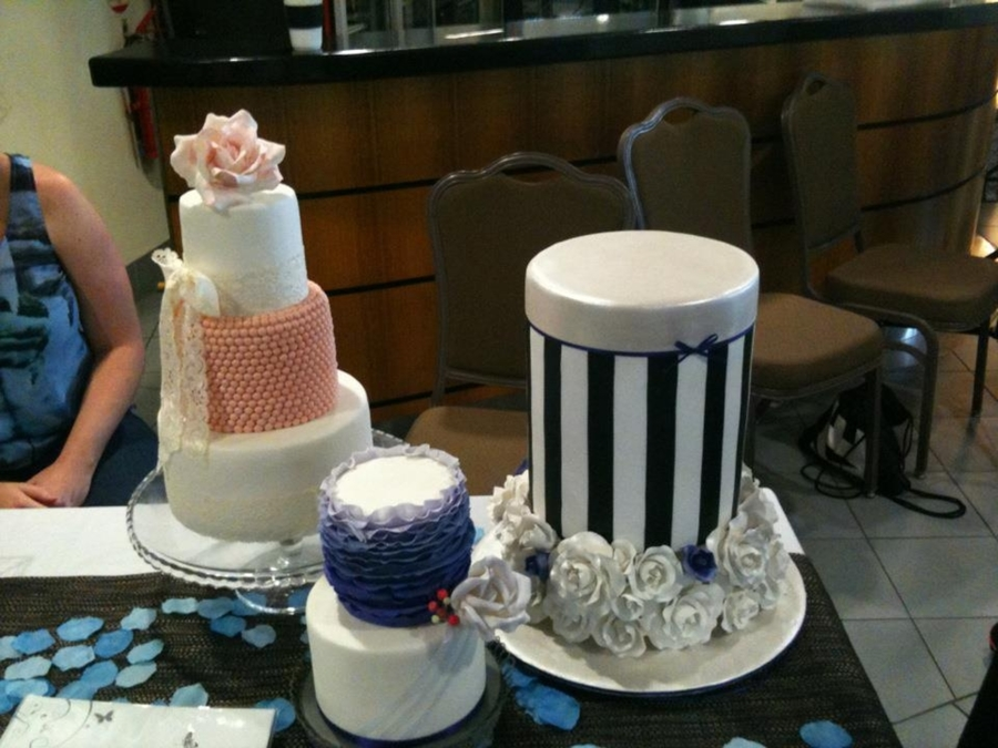 Wedding Expo Cakes on Cake Central