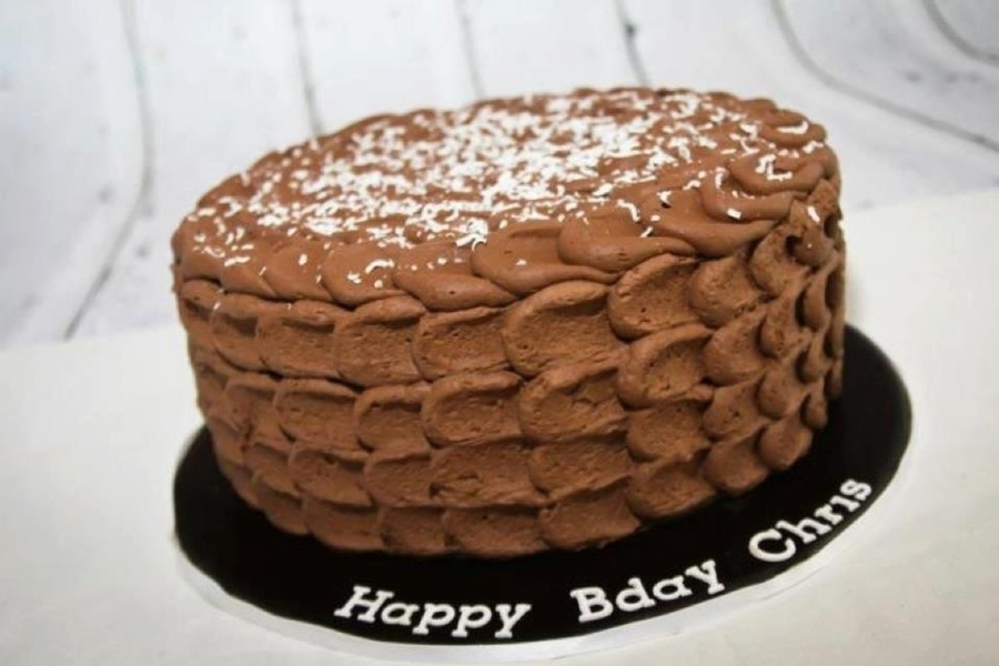 Chocolate Birthday Cake on Cake Central