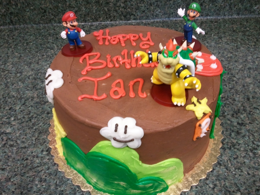 Mario #2 on Cake Central