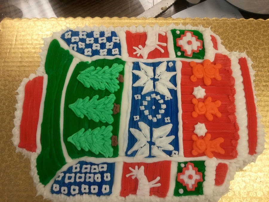 Ugly Sweater on Cake Central