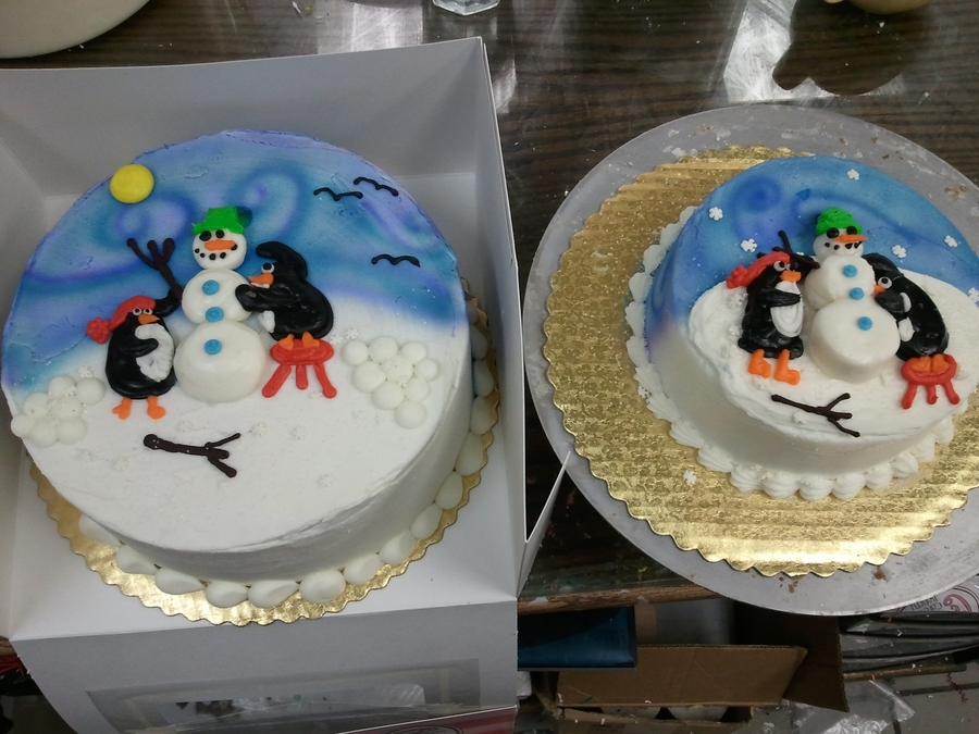 Fun In The Snow on Cake Central