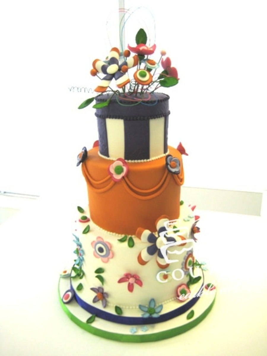Elegant And Fun! on Cake Central
