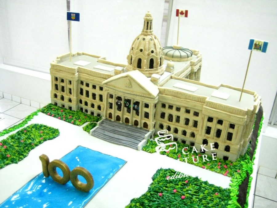 Legislature Edmonton on Cake Central