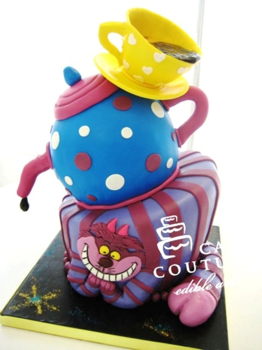 Alice In Wonderland on Cake Central