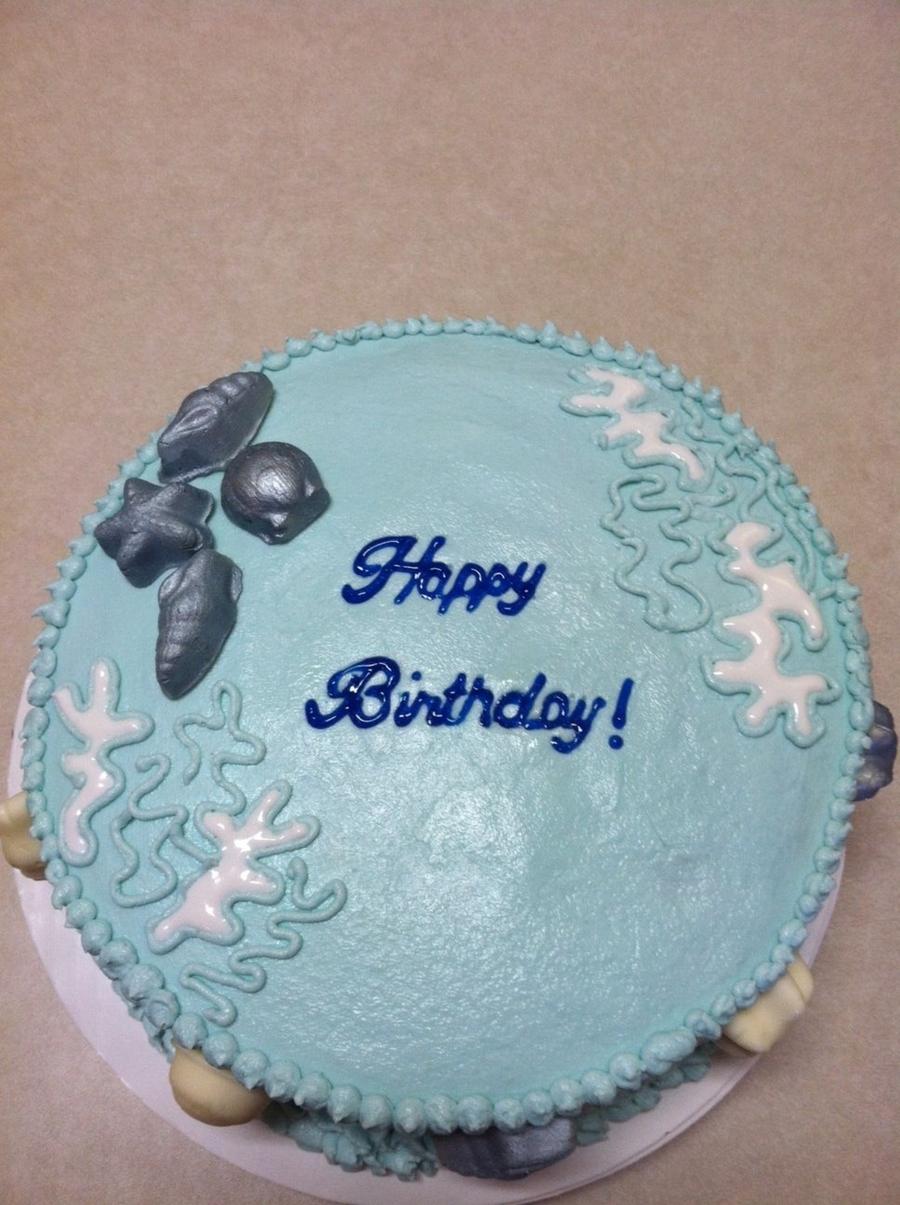 Seashell Birthday Cake Cakecentral
