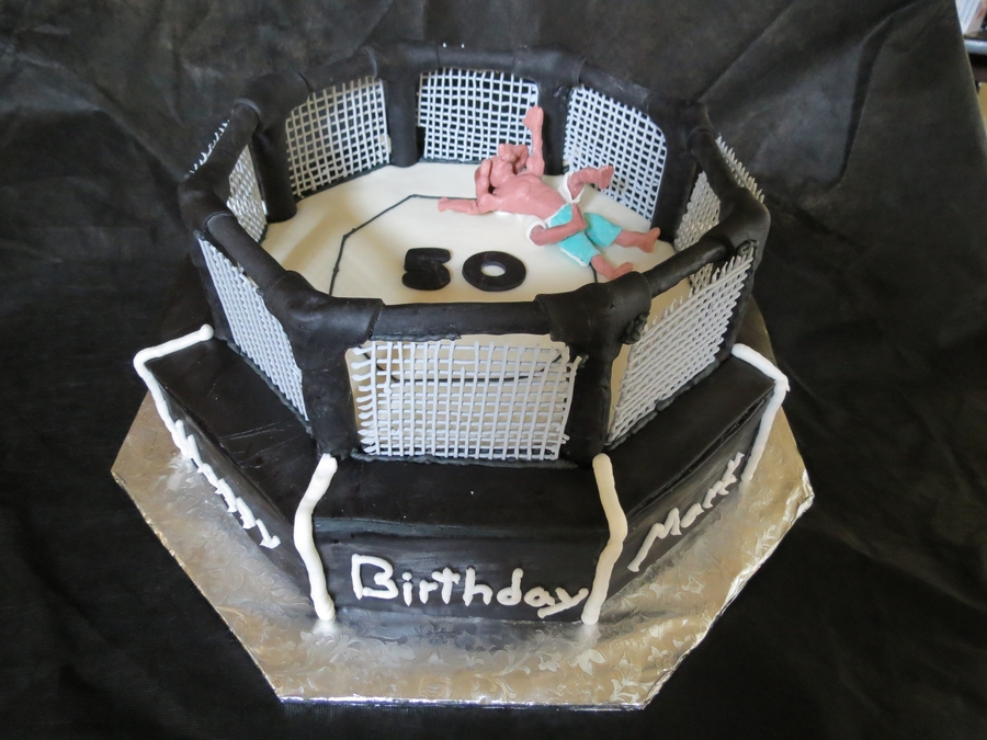 Mixed Martial Arts Cake on Cake Central