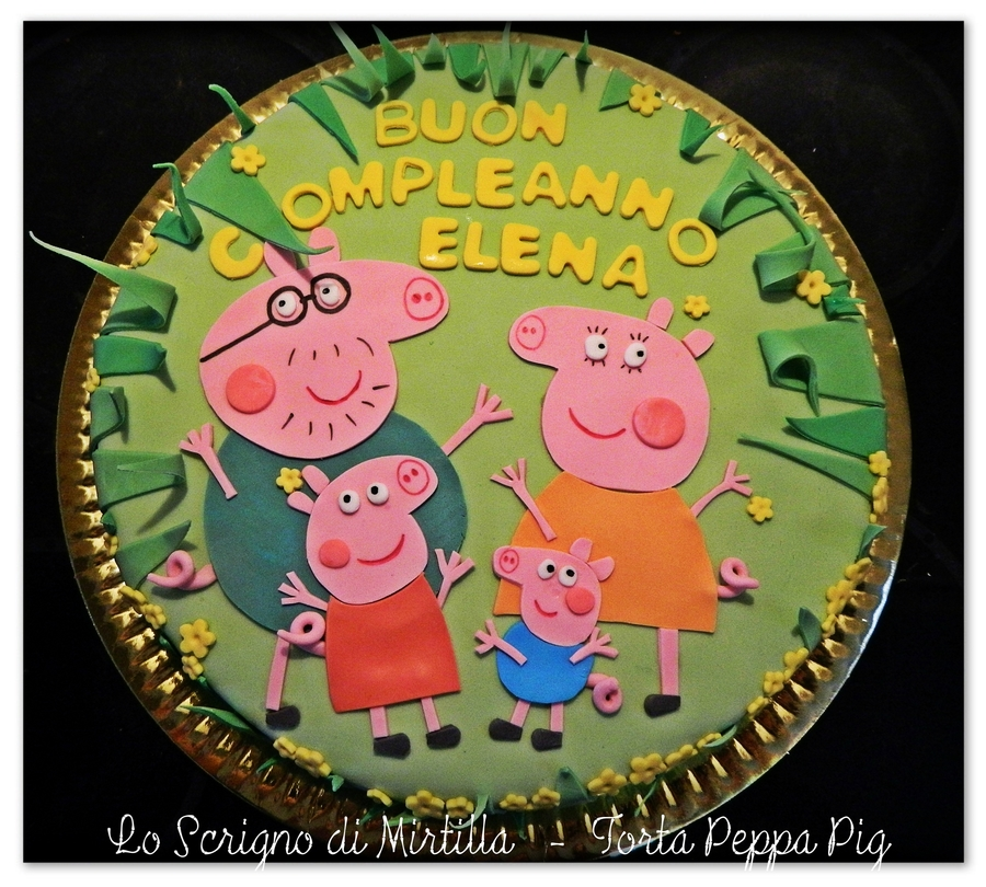 Peppapig Birthday Cake on Cake Central