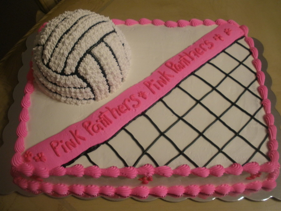 Volleyball Cake Decorations