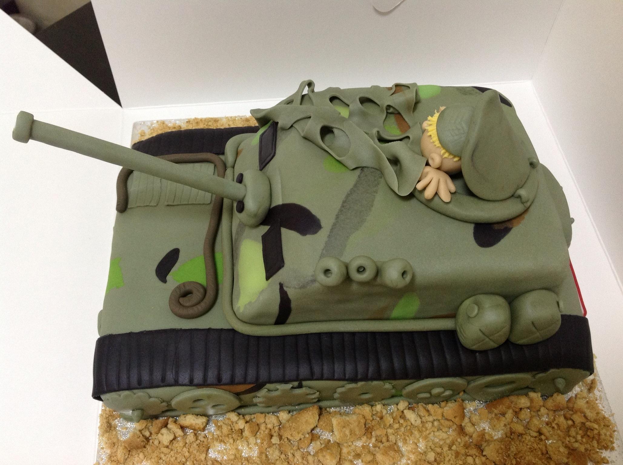 Tank Birthday Cake Recipe