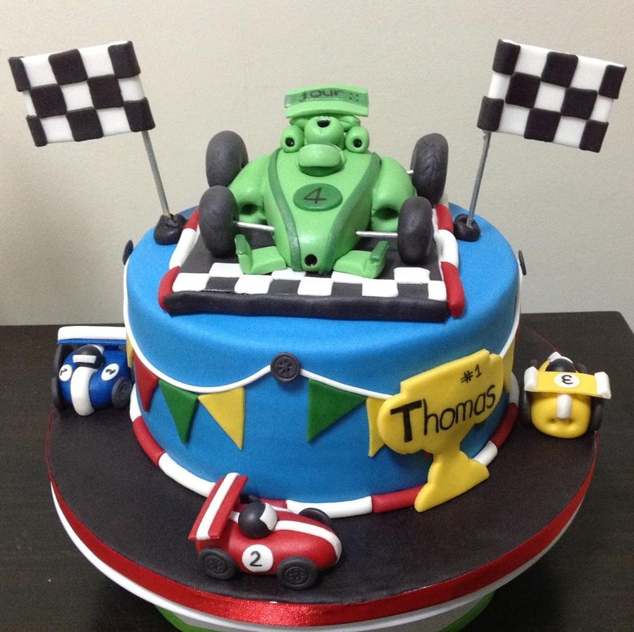 4th birthday racing cars cake cakecentral baditri Choice Image