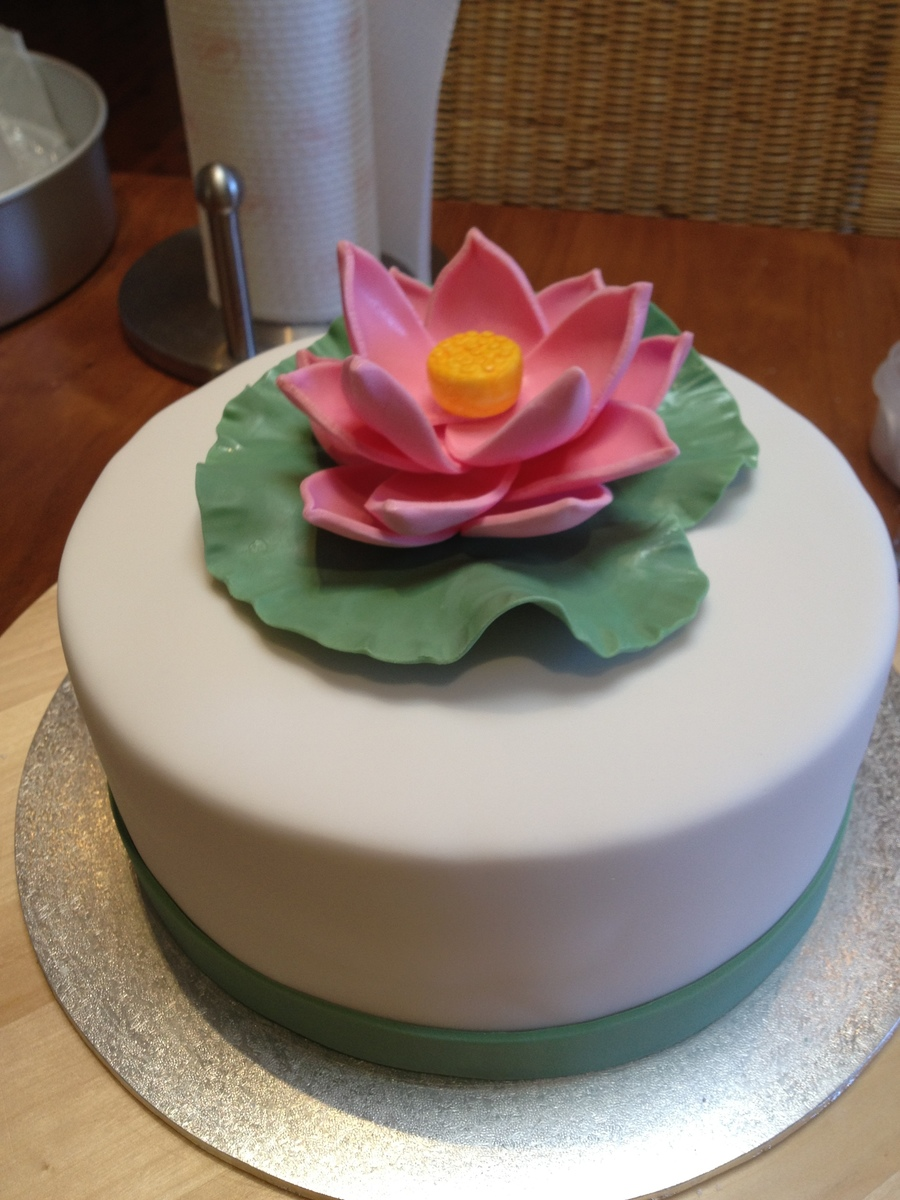 Lotus Flower Cakecentral Com