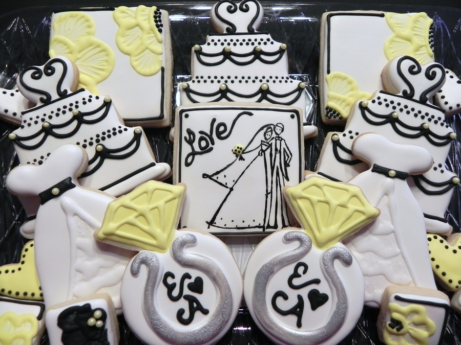 Engagement Cookies on Cake Central