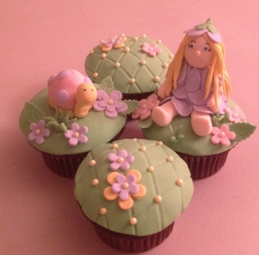 Fairy Fantasy Cupcakes on Cake Central