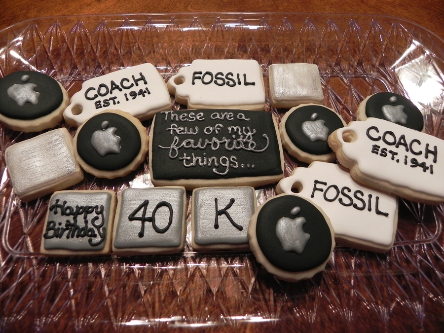 Favorite Things Cookies  on Cake Central