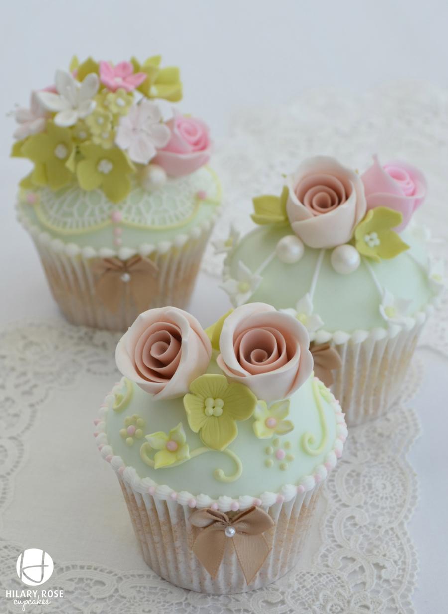 Vintage Tea Party Cupcakes Cakecentral Com
