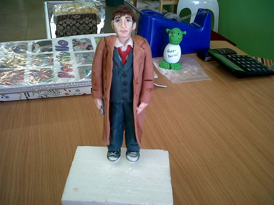 Dr. Who Plastic Icing (Sugar Dough) Figure on Cake Central