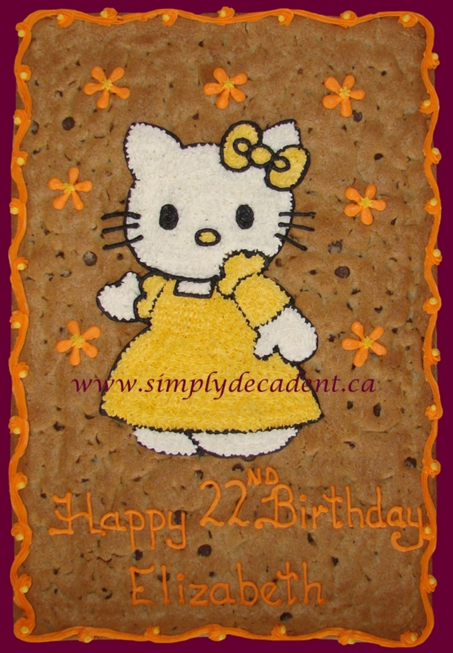 Hello Kitty Cookie Gram on Cake Central