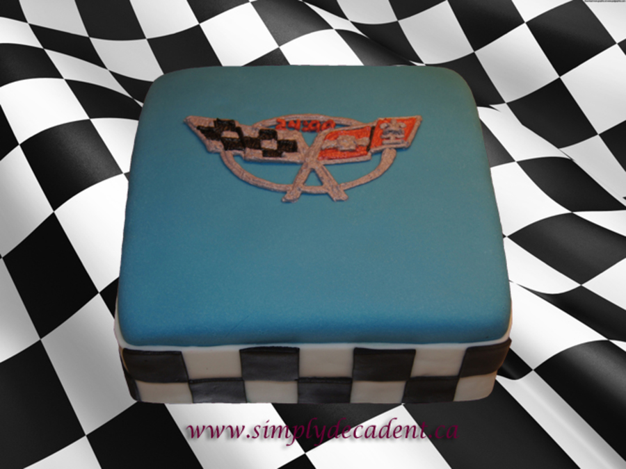 how to make a checkered cake with fondant