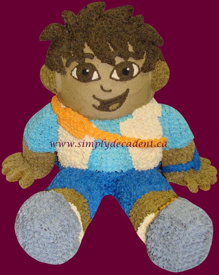 3D Diego (Dora The Explorer) Cake on Cake Central