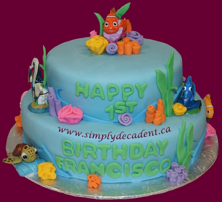 Finding Nemo & Friends Cake on Cake Central