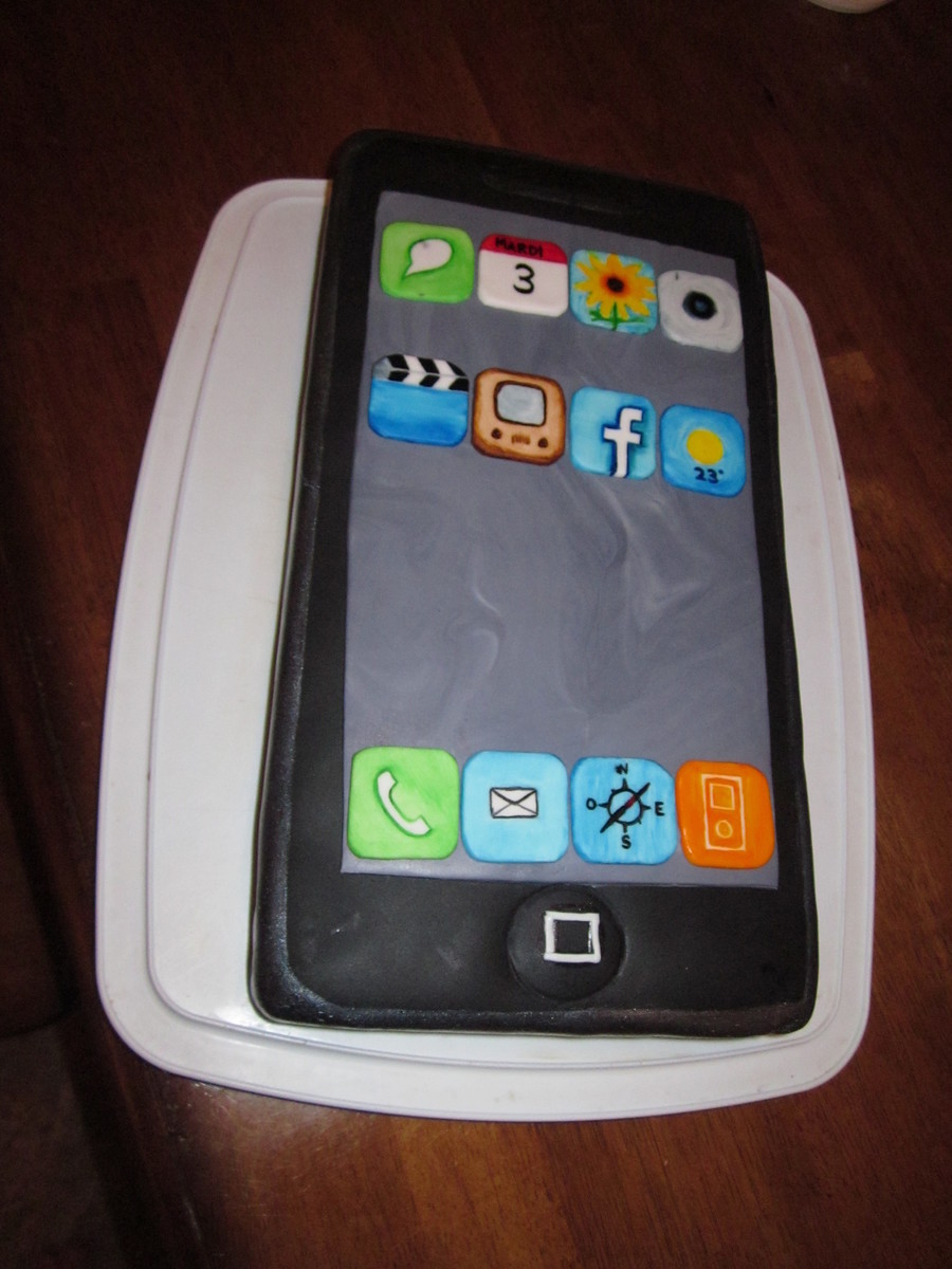Iphone on Cake Central