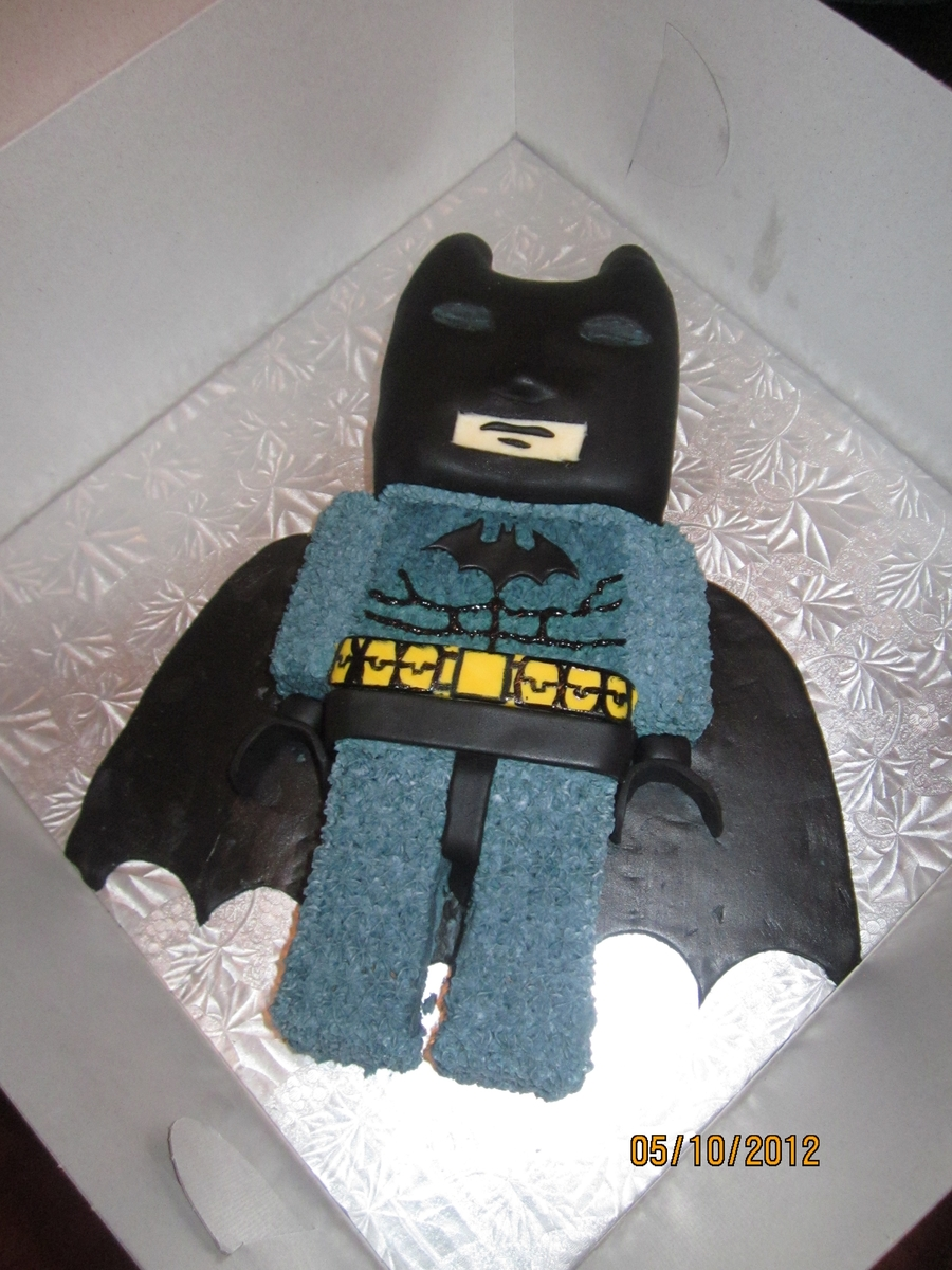 Batman Lego on Cake Central