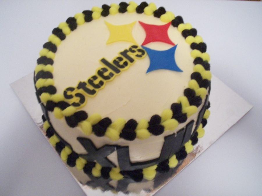 Pittsburgh Steelers Cake on Cake Central