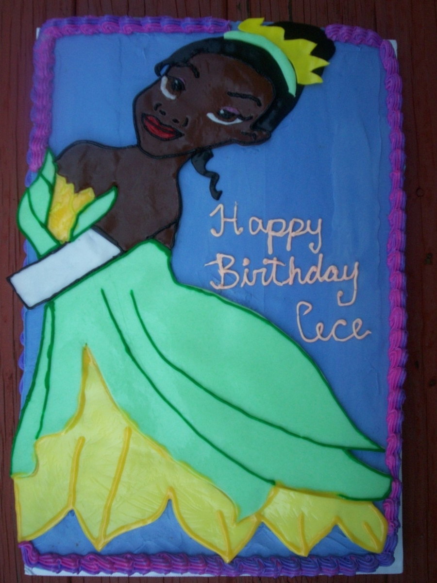 Princess Tiana Ready Or The Ball on Cake Central